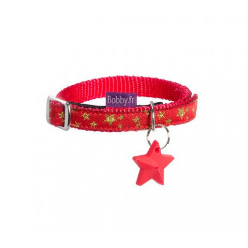 Collier Merry rouge Bobby