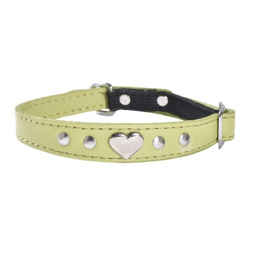 Collier amour vert anis Bobby