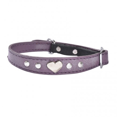 Collier amour violet Bobby
