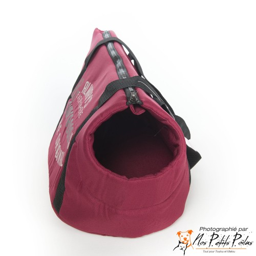 Sac Superdog bordeaux Bobby