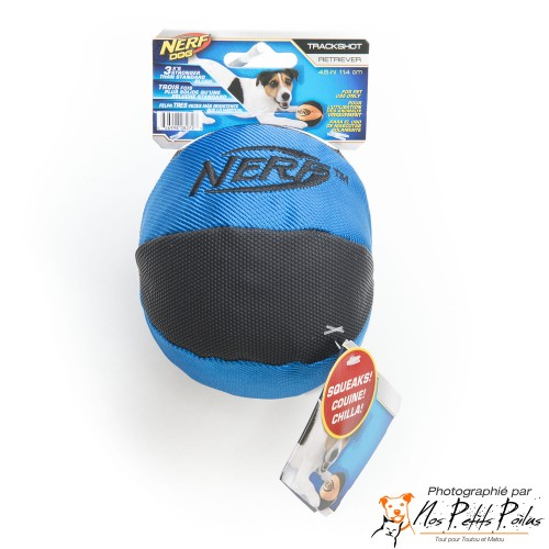 Balle sonore bleue Nerf