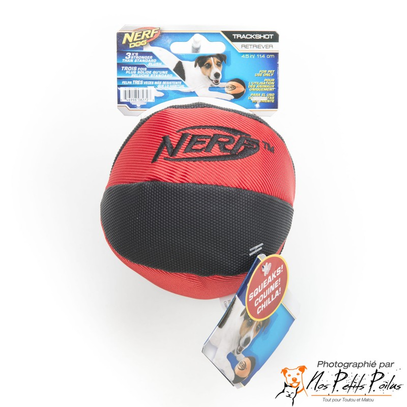 Balle Sonore Nerf Rouge