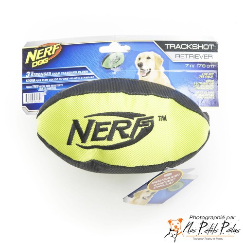 Ballon de foot US jaune Nerf