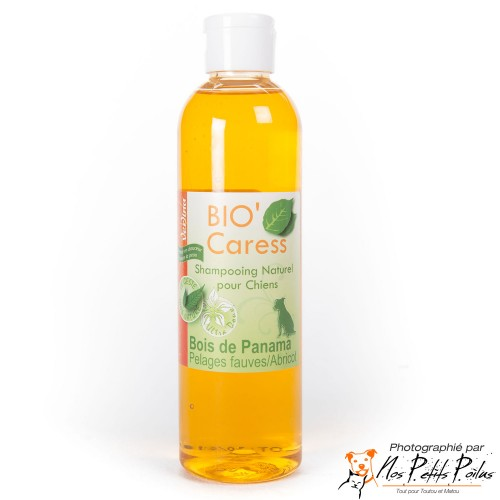 Shampoing Bio'Caress pelages fauves et abricot Verlina
