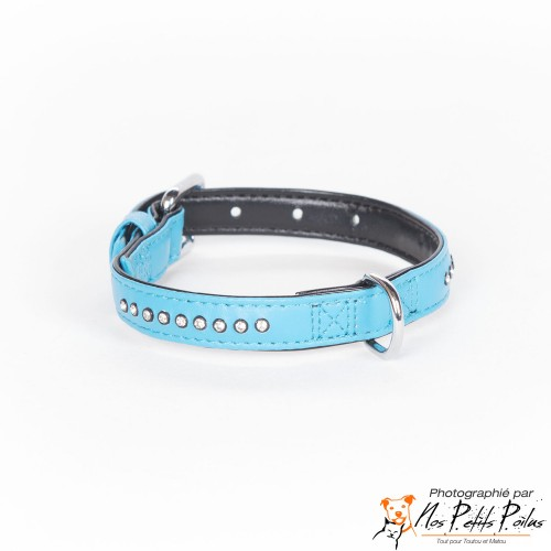 Collier Strass Diamond Turquoise Kerbl