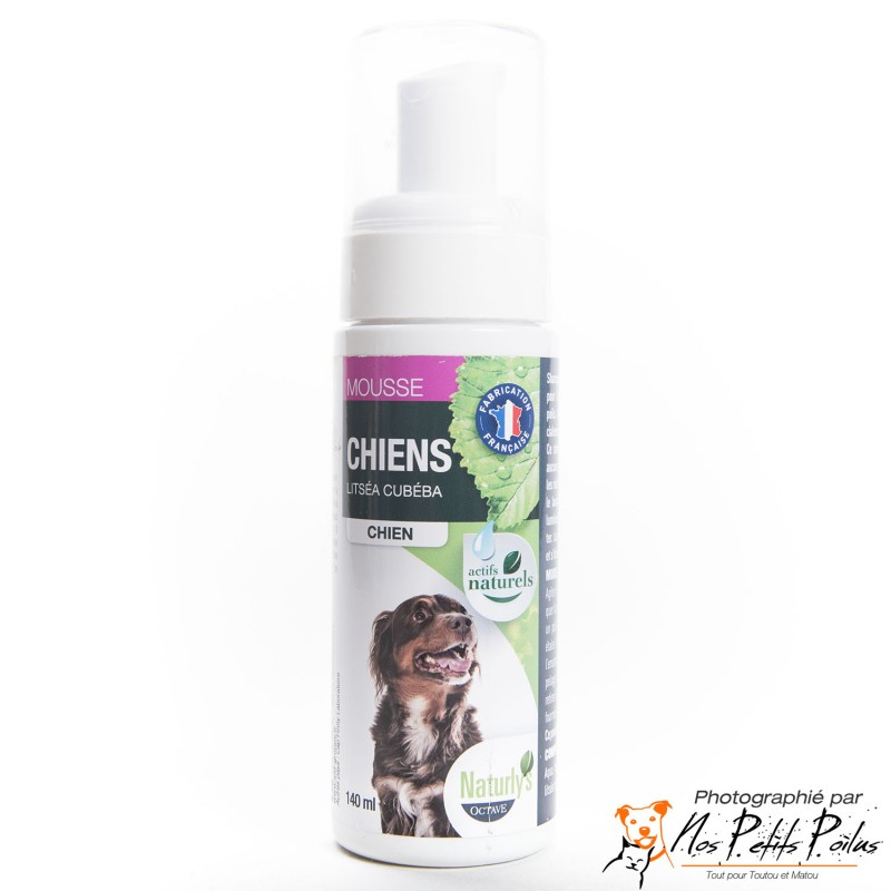 Shampoing mousse chien Naturly's Octave