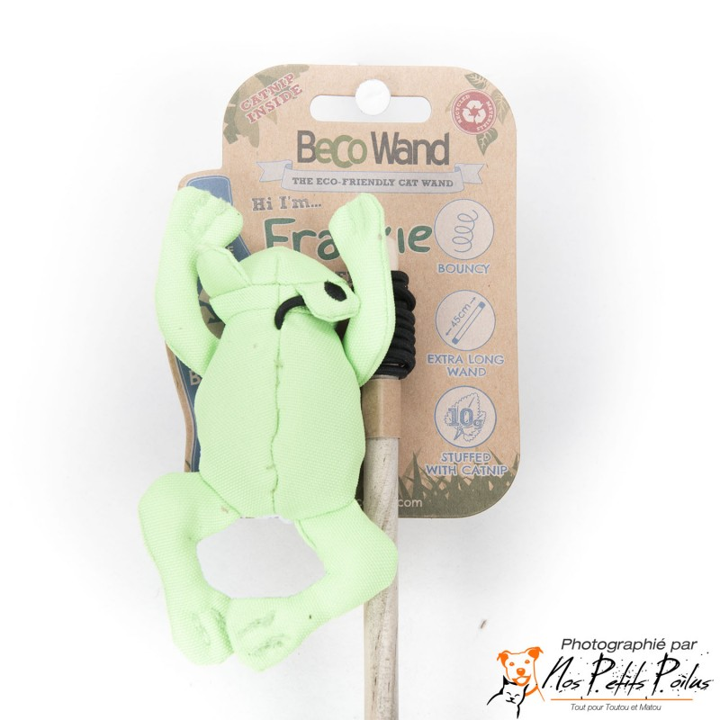 Beco Cat Wand Frog