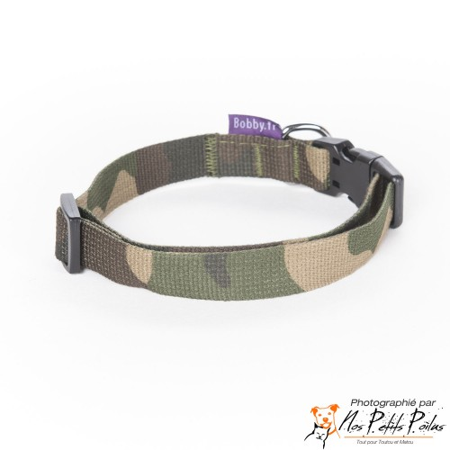 Collier camouflage Bobby