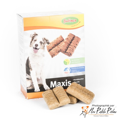 Maxis biscuits Bubimex