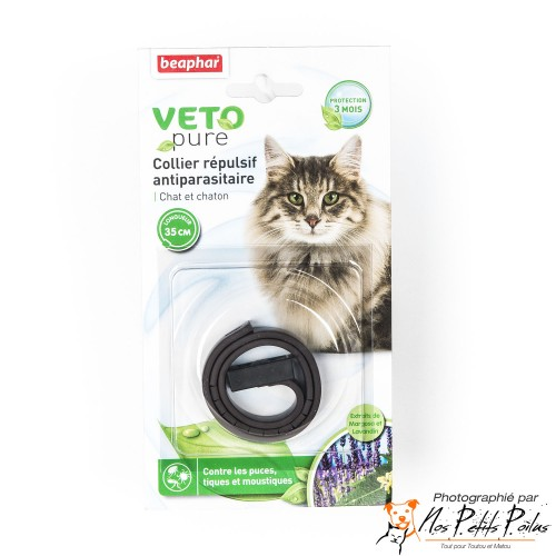 Collier VETOpure chat Béaphar