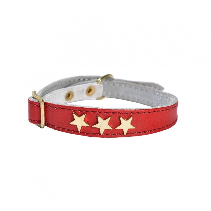 Collier étoiles rouge Bobby