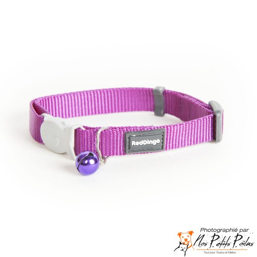 Collier Violet Red Dingo