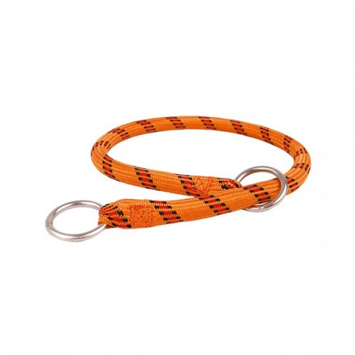 Collier Nylon étrangleur Orange Zolux