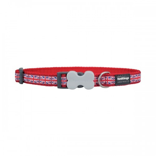 Collier Union Jack Red Dingo