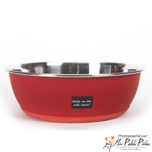 Gamelle personnalisable, Rouge