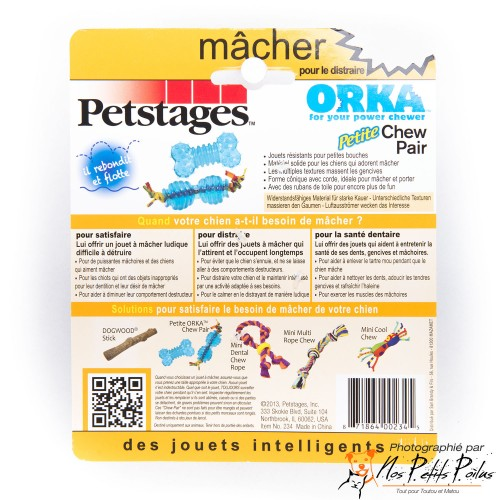 Ultra Mini Orka Chew Pack Petstage