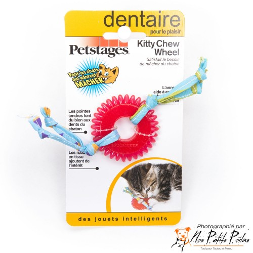 Kitty Chew Wheel Petstage