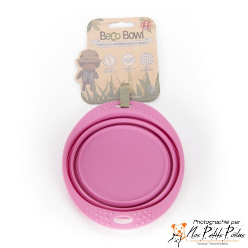 Beco Travel Bowl rose